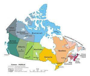 mappa-politica-canada