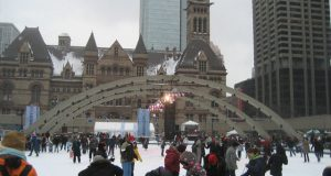 Canada City Hall WInter
